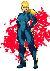 samus returns zero suit by cdlum