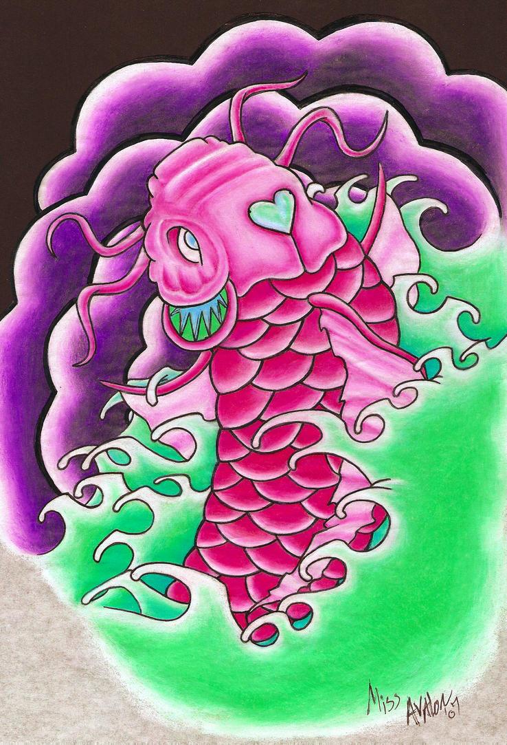 Pink Koi by All-Seeing-Voodoo