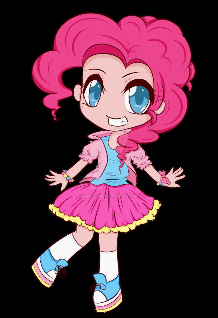 Pinkie Pie Gijinka by DamnedRomance