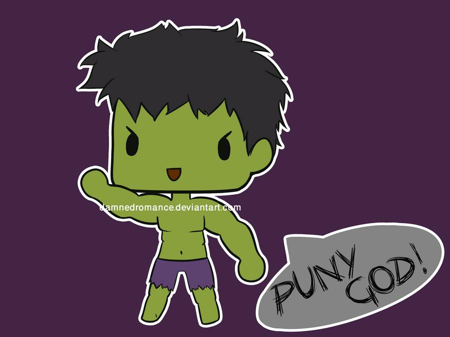 Hulk Super Chibi by DamnedRomance on DeviantArt