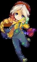 :CM: SoftShading Chibi - NeonMace by fleesveon