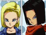 a17 a18... Dragon Ball