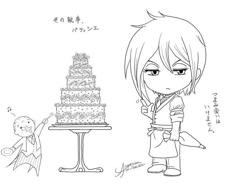 his butler pastry chef v2 by aruarian dancer - Black Butler Chibi Coloring Pages