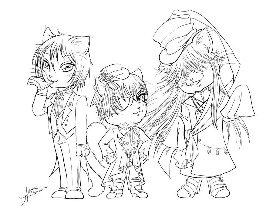 the gallery for grell coloring pages