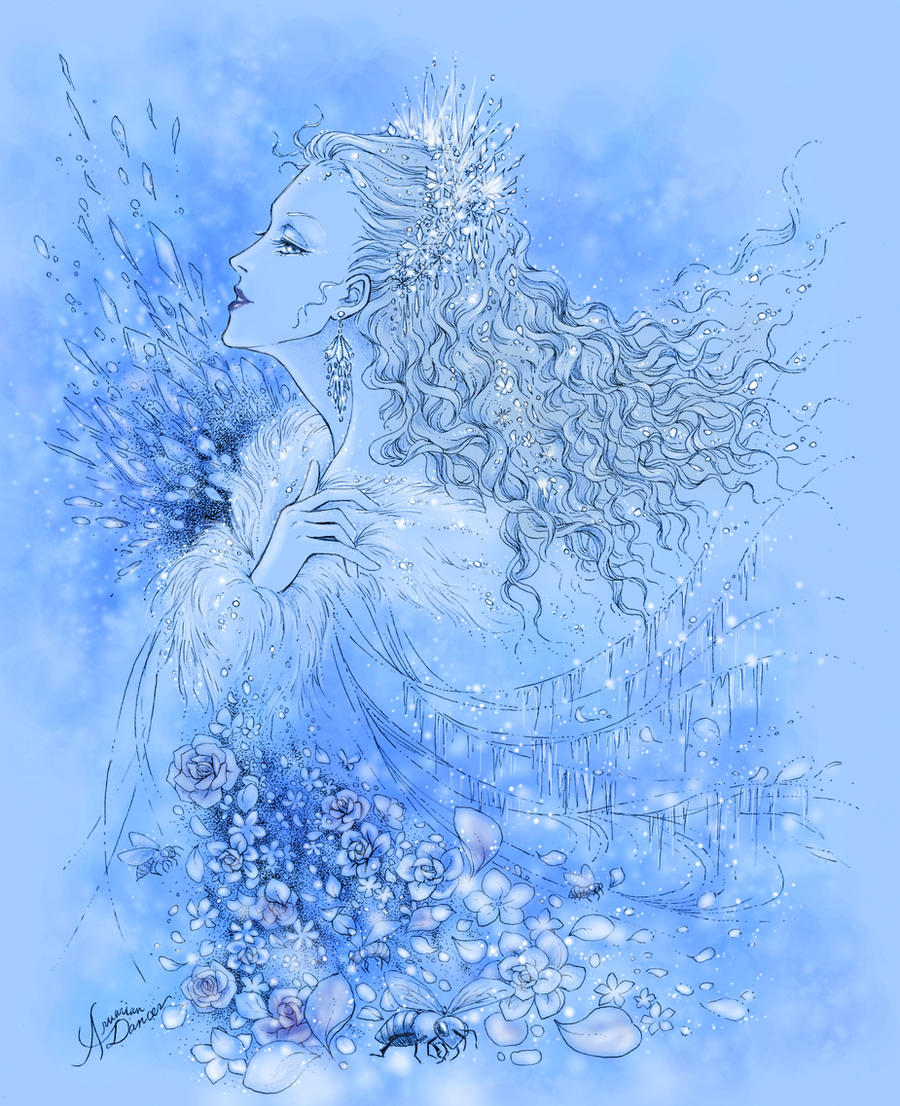Snow Queen v.2 by aruarian-dancer