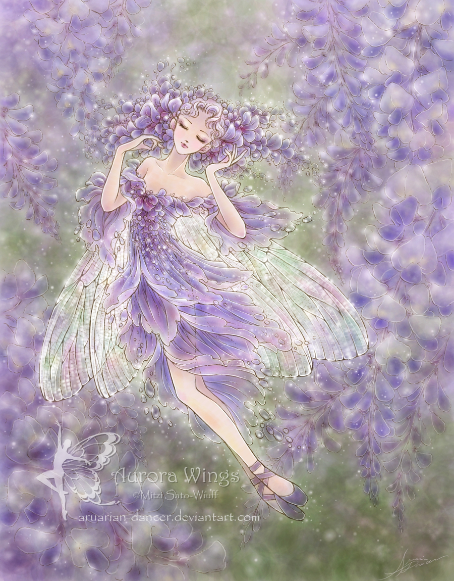 Wisteria by aruarian-dancer