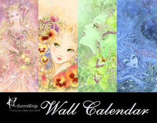 Fantasy Calendar by aruarian-dancer