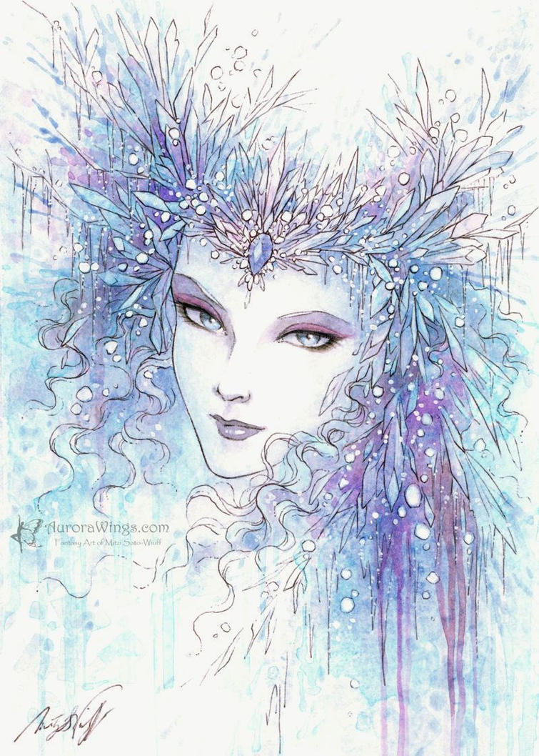 Snow Queen by aruarian-dancer
