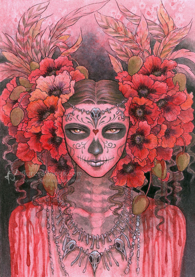 Bone Queen by aruarian-dancer