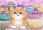 Cupcake Kitten