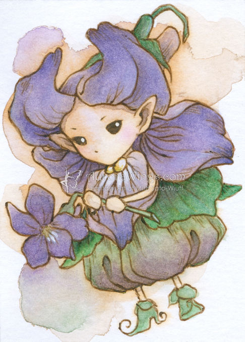 Violet Sprite by aruarian-dancer