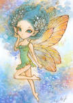Lulu, the Blue Haired Pixie