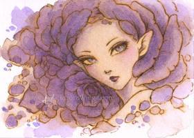 Purple Rose by aruarian-dancer