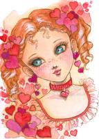 Valentine Girl by aruarian-dancer