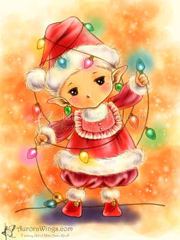 Christmas Lights Sprite