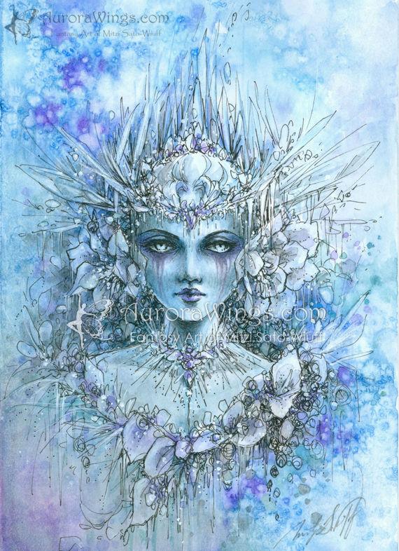 Snow Queen (Blooms of Ice)