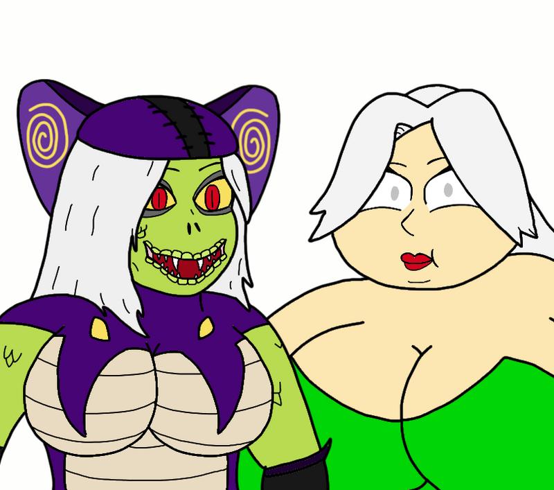 Viper And Chamele-Luna Faces By Missingno-54 On DeviantArt