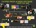 2 PSD PACK of HIGH VOLTAGE