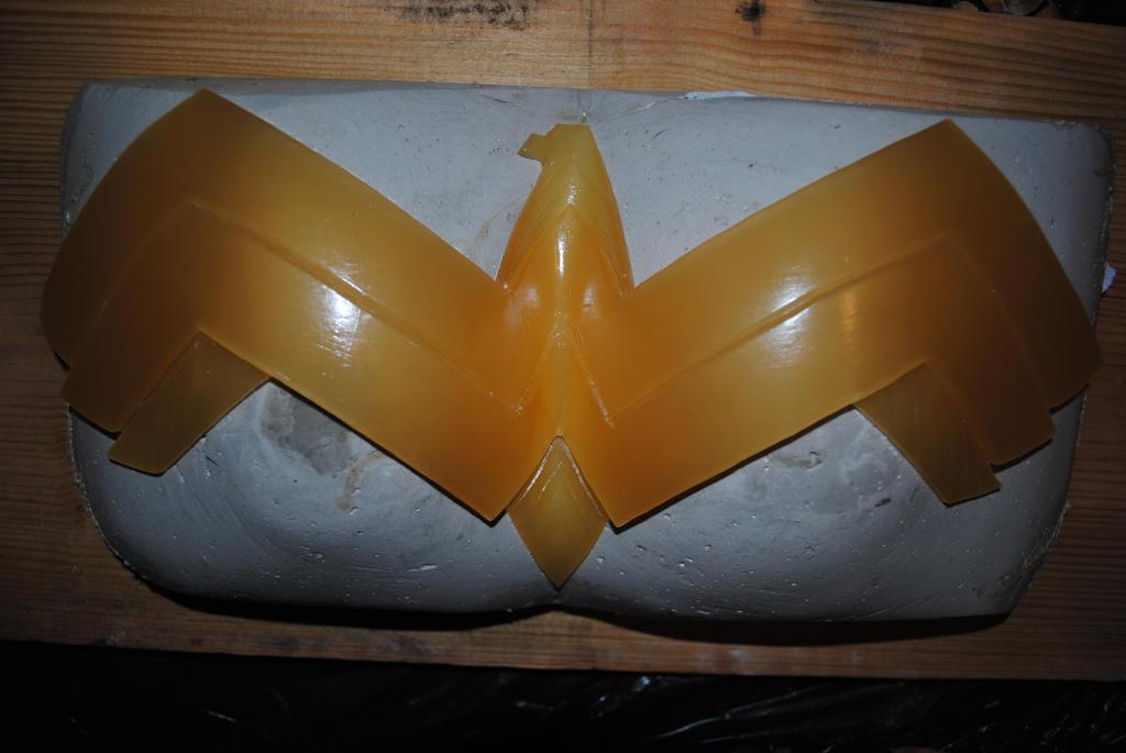 Wonder Woman Chest Plate Sculpt by ZigorC