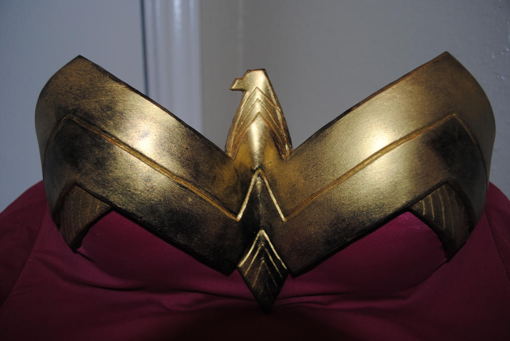 Wonder Woman Chest Plate Cast by ZigorC
