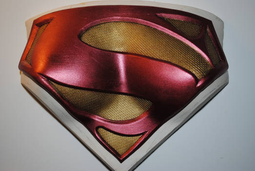 SuperGirl Chest Plate - Cast