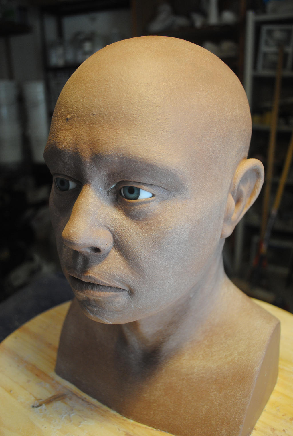 how to make an animatronic head