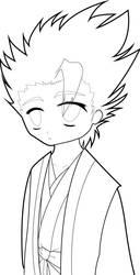 Very Scary Hitsugaya by KenshinJennings