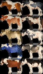 chibi stock horses [1/10 OPEN]