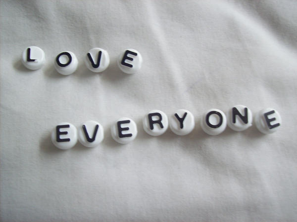 Love Everyone: Love Everyone By Oakmi On DeviantArt