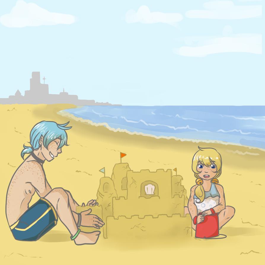 PMA :: Sandcastle Bonding by mahoumii