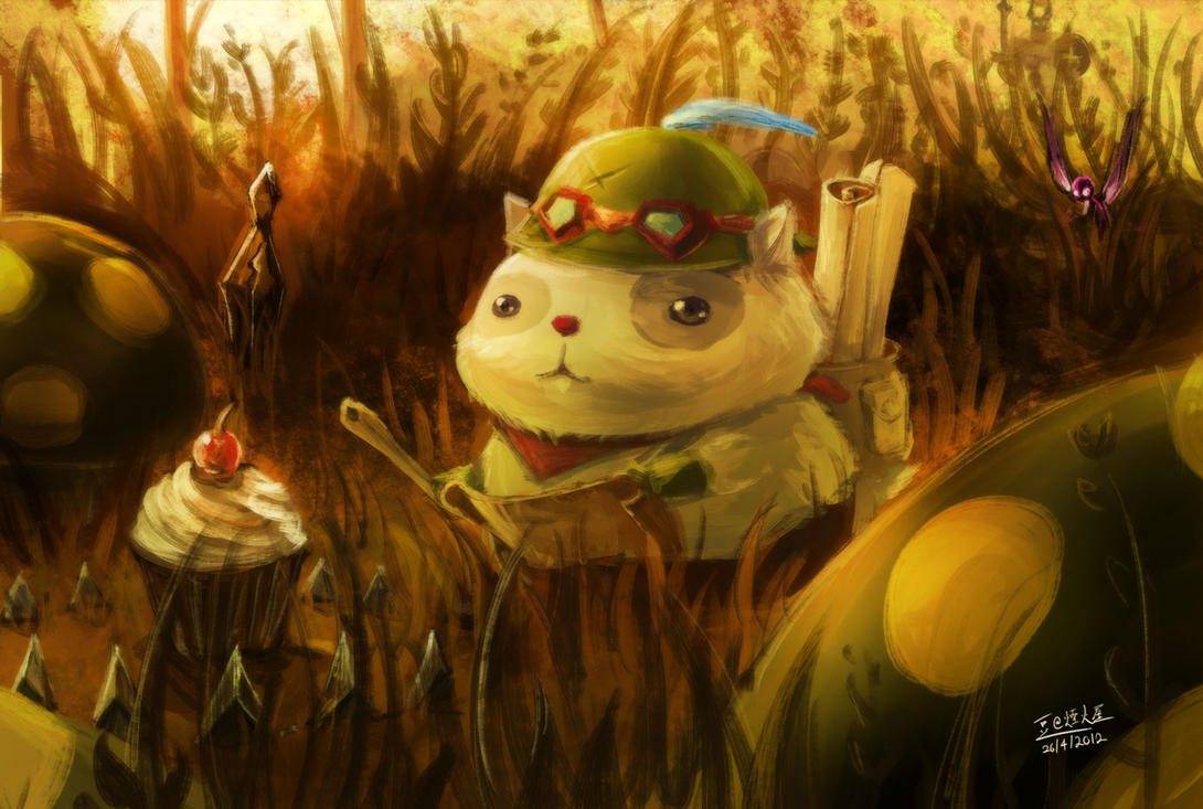 LOL - Who fed Teemo by beanbeancurd on DeviantArt