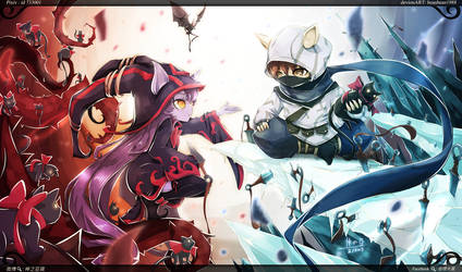 [LOL] Kennen x lulu finish by beanbeancurd