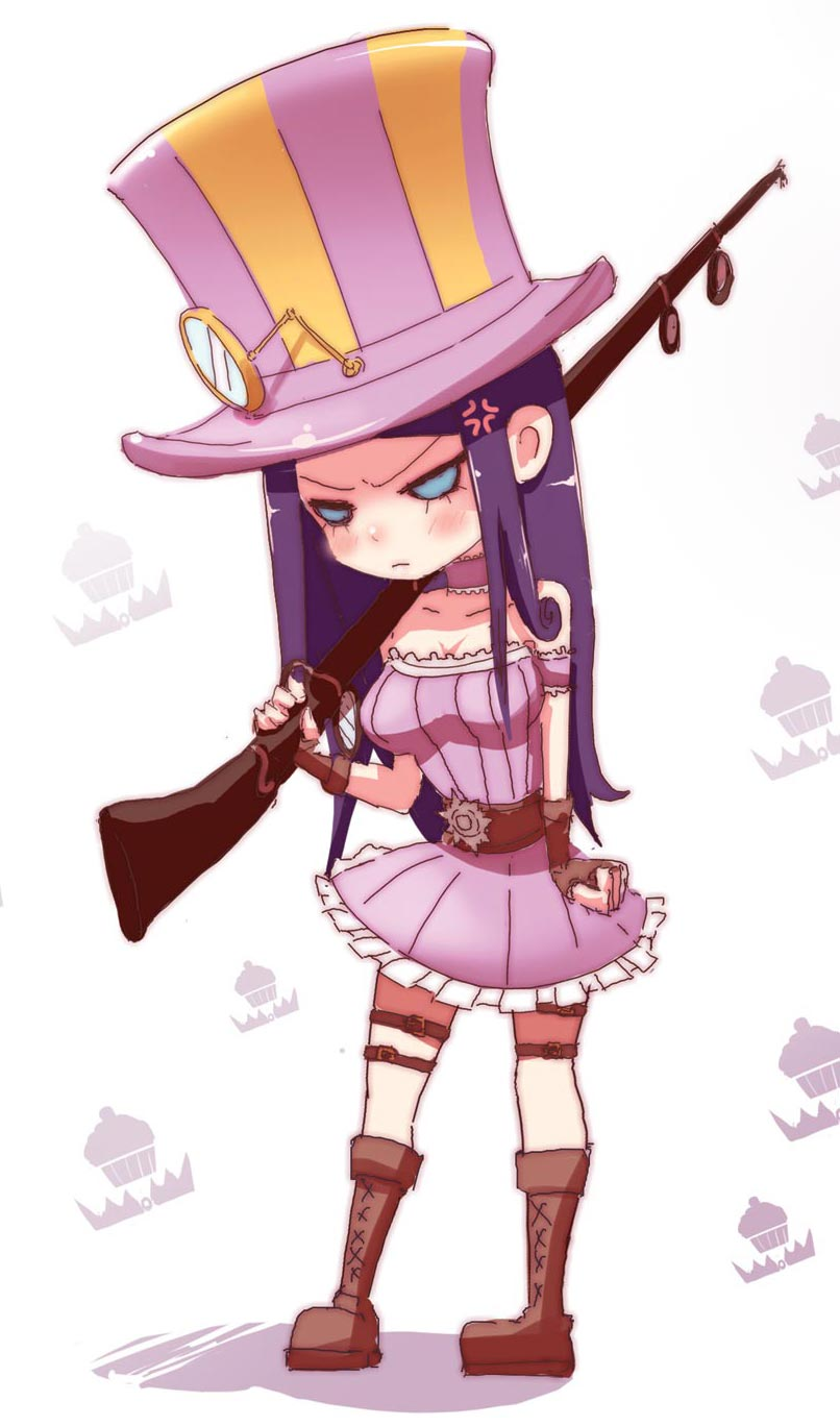 [LOL] Why does Caitlyn get so angry?? by beanbeancurd