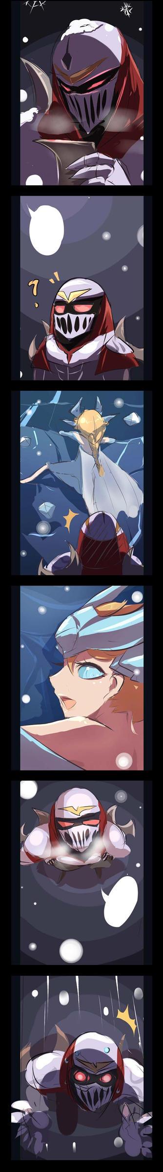 [LOL] Frozen Syndra~(little story) by beanbeancurd