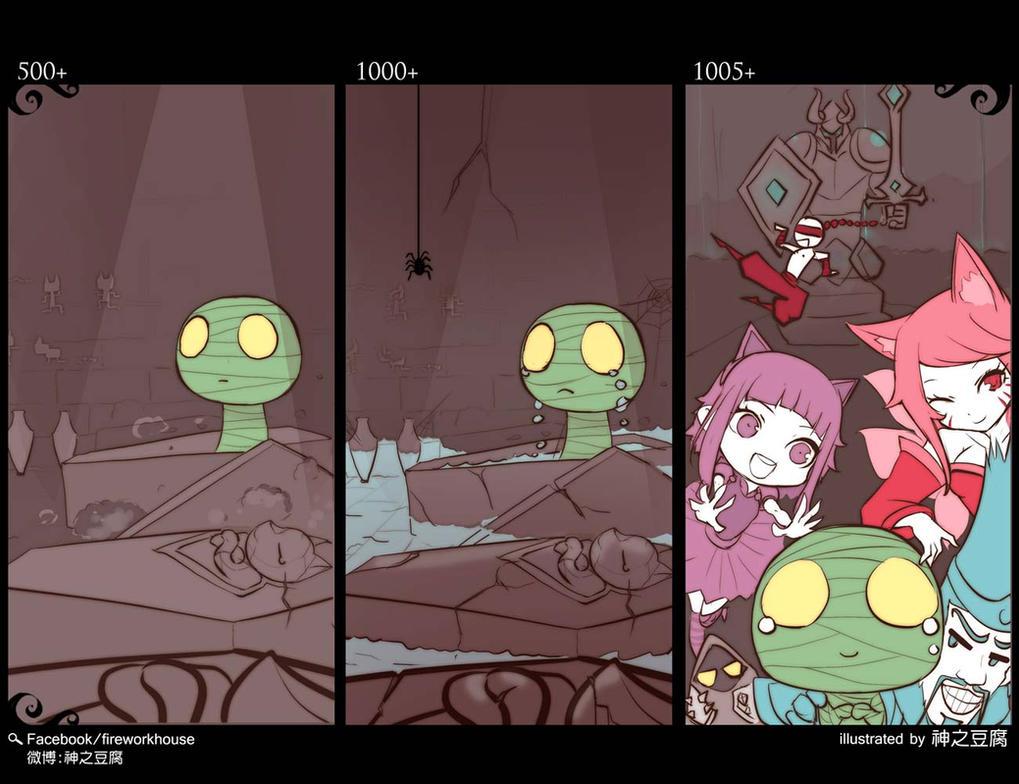 [LOL] [Smaill Story]Amumu by beanbean1988