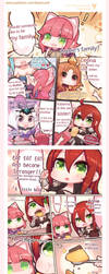 Doujin translate voting : No.3 Mini Annie's family by beanbeancurd