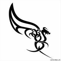 Dragon by VectorVillainStv
