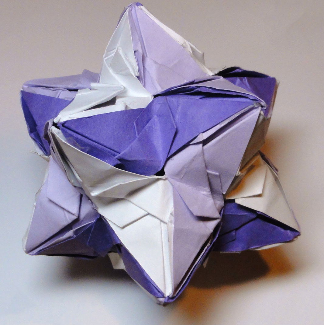 Origami Stellated Dodecahedron by pecatrix