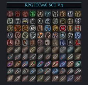 RPG ITEMS SET v.3