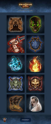 Empire of Ember - Status Effect Icons