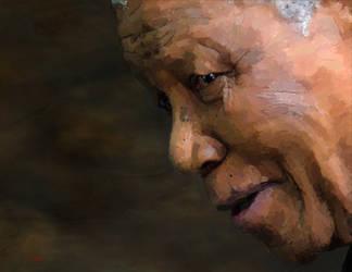 Nelson Mandela by Les-Allsopp