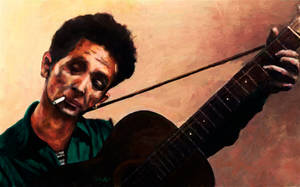 Woody Guthrie by Les-Allsopp