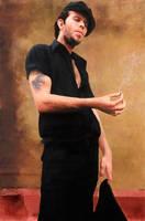 Tom Waits #2 by Les-Allsopp