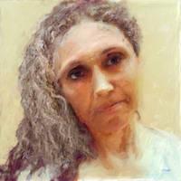 Female portrait no 6: Moment of reflection by Les-Allsopp