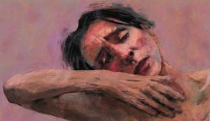 Female portrait No 14 : The Dance by Les-Allsopp
