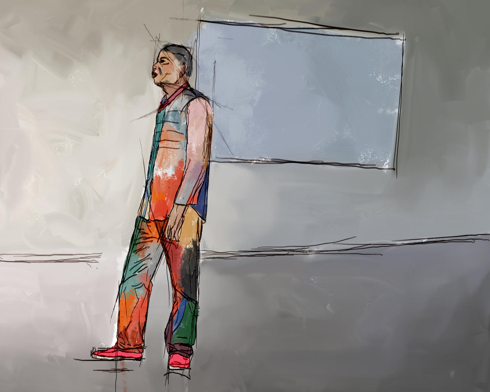 Digital sketch by Les-Allsopp
