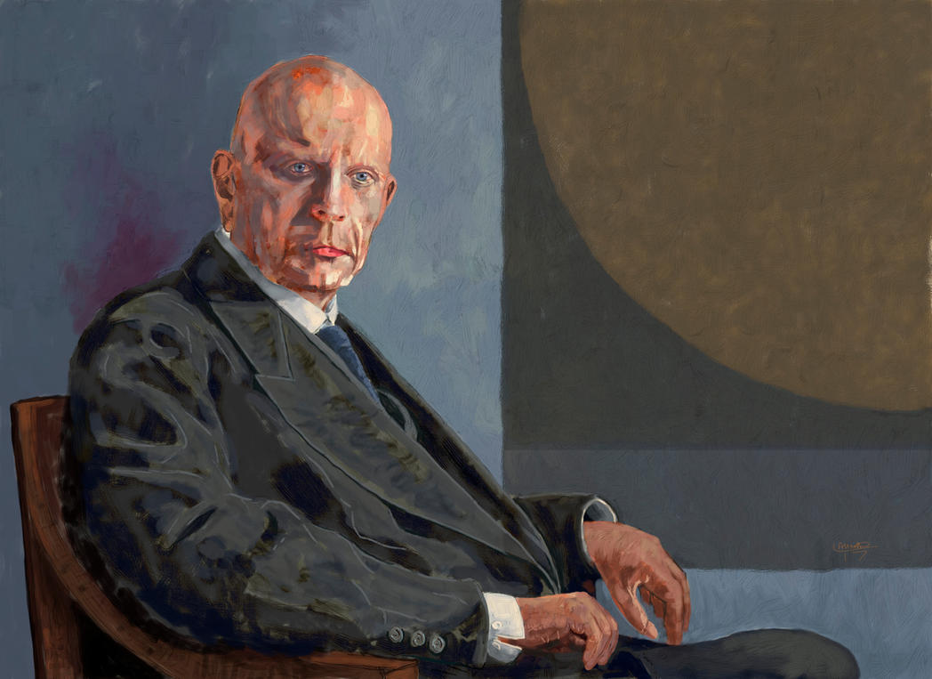 Jean Sibelius portrait by Les-Allsopp