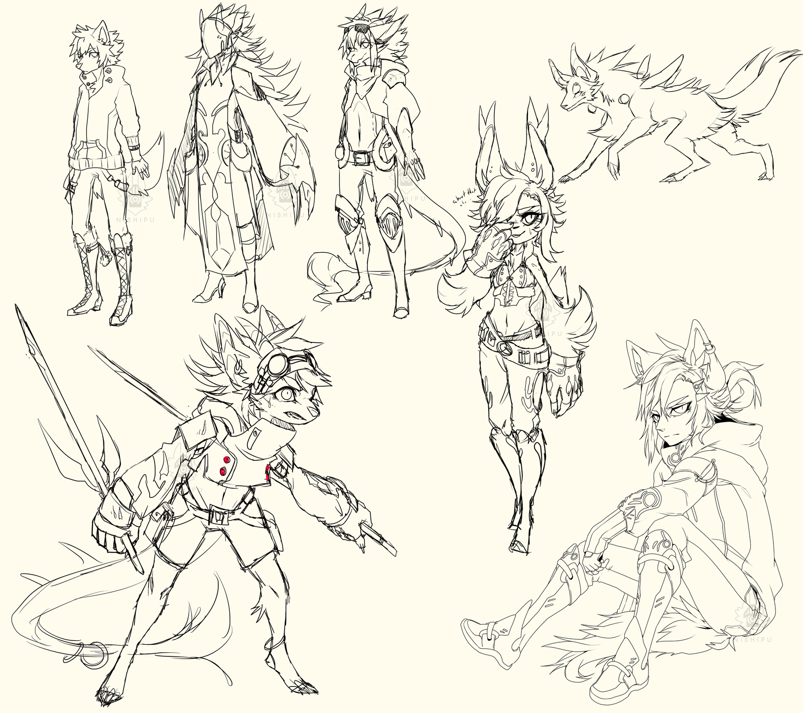 AUGHHHH WHATS THAT NAT, MORE WIPS? SO RARE WOW WHA by Nishipu