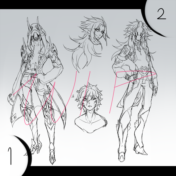 THEYRE COMING Adopts- WIP! by Nishipu