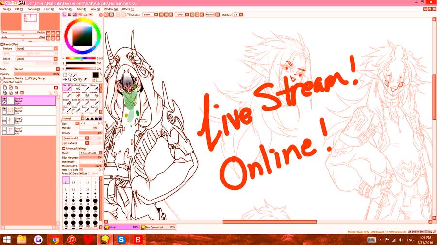 Live stream- offline by Nishipu